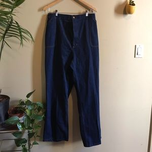 Vintage High Waisted Jeans Plus Size